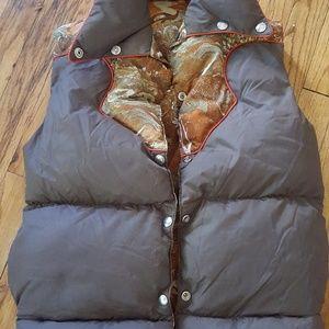 1970s women's vest size small